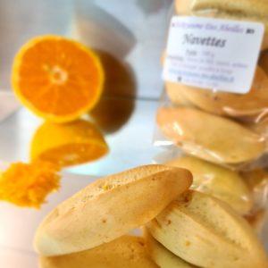 Navettes aux zestes d'orange bio