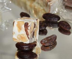 Mini Nougat Blanc aux Fèves de Cacao 110 g