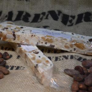 Croque Nougat Blanc aux Fèves de Cacao 95 g