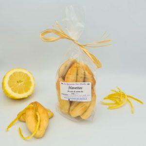 Navettes aux Zestes de citron Bio