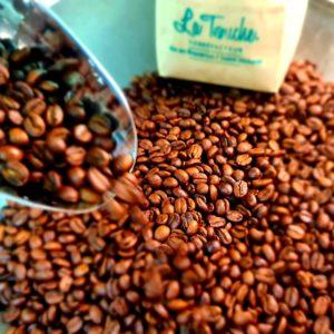 Croque Nougat Blanc Aux Grains de café Bio 95 g