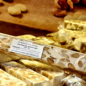 Croque Nougat Blanc Aux Mandarines Confites 95 g