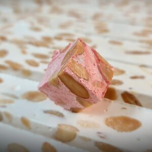 Mini Nougat Octobre Rose à la Fraise